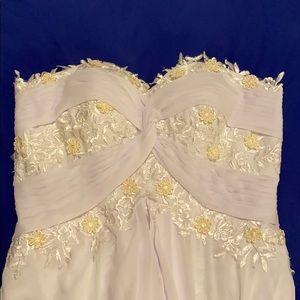 BRAND NEW white wedding dress